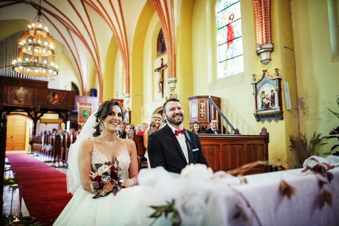 ślub w kościele orzechowo