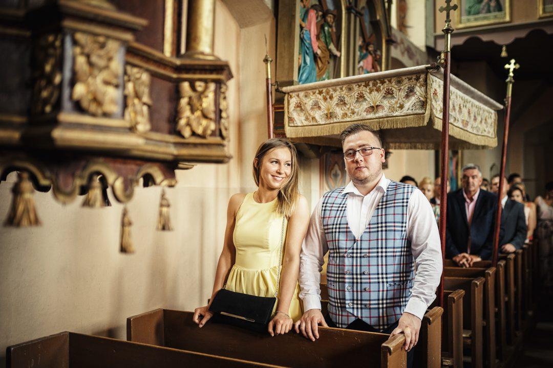ślub kasi i tomka parafia Ramsowo