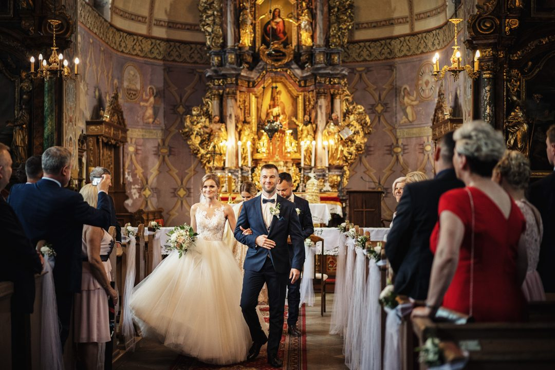 ślub w kościele Ramsowo