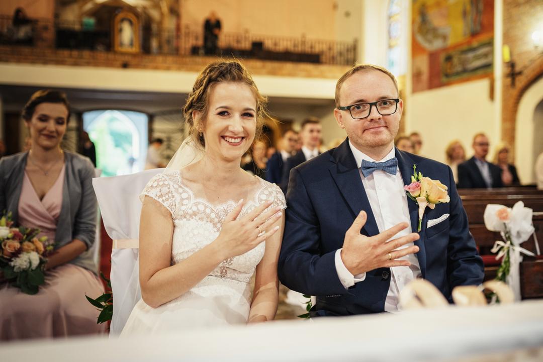 ślub kościół kuty