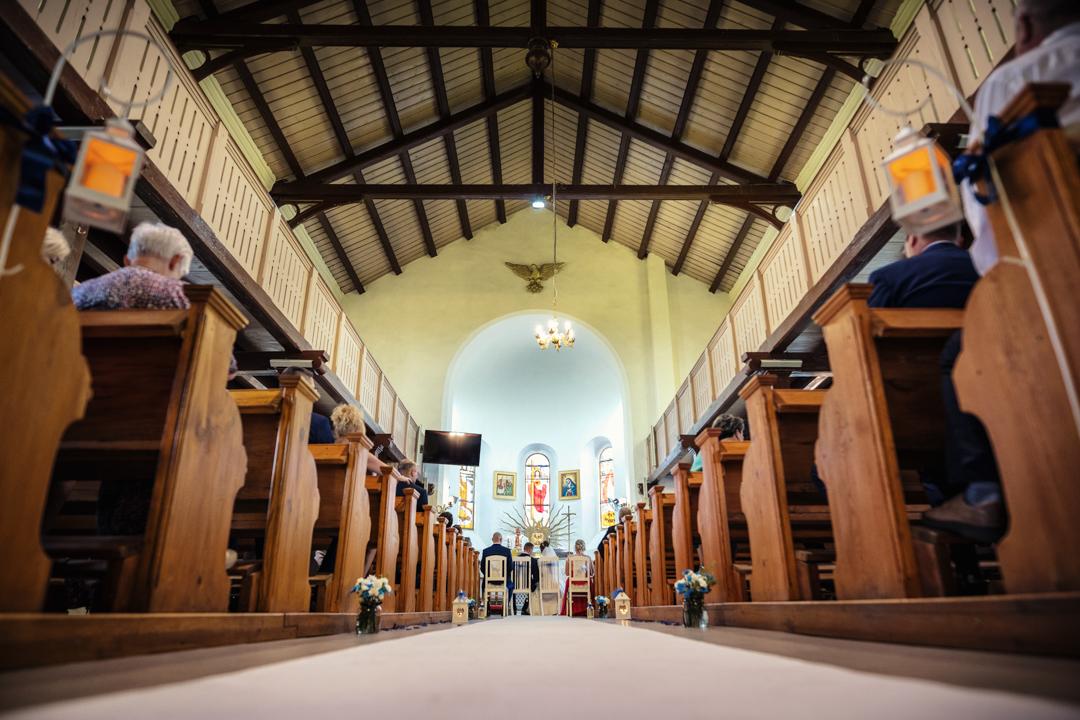 wnętrze Kościół Rzymskokatolicki pw. św. Jana Chrzciciela