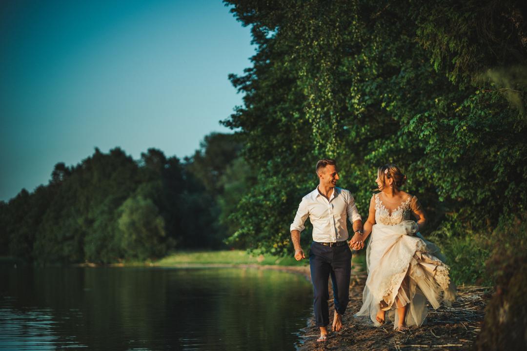 sesja ślubna jezioro gołdapiwo