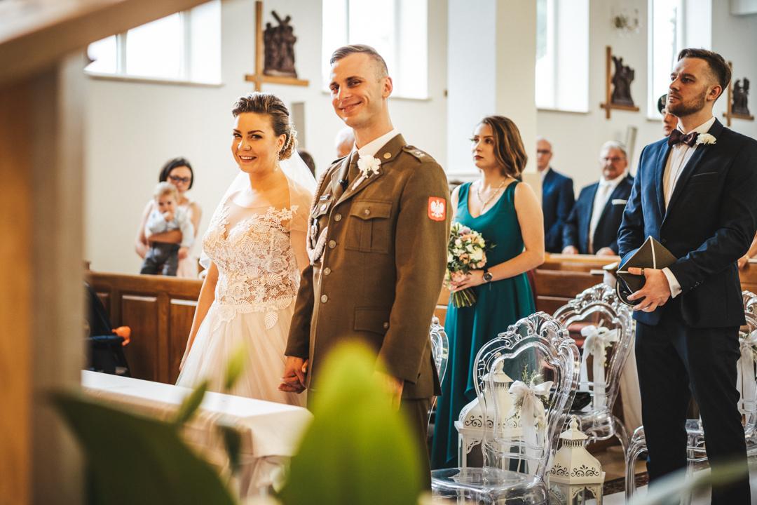 ślub żołnierz jednostka giżycko